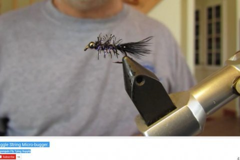 The Straggle String Micro-bugger  Algonquin Fly Tying Supply