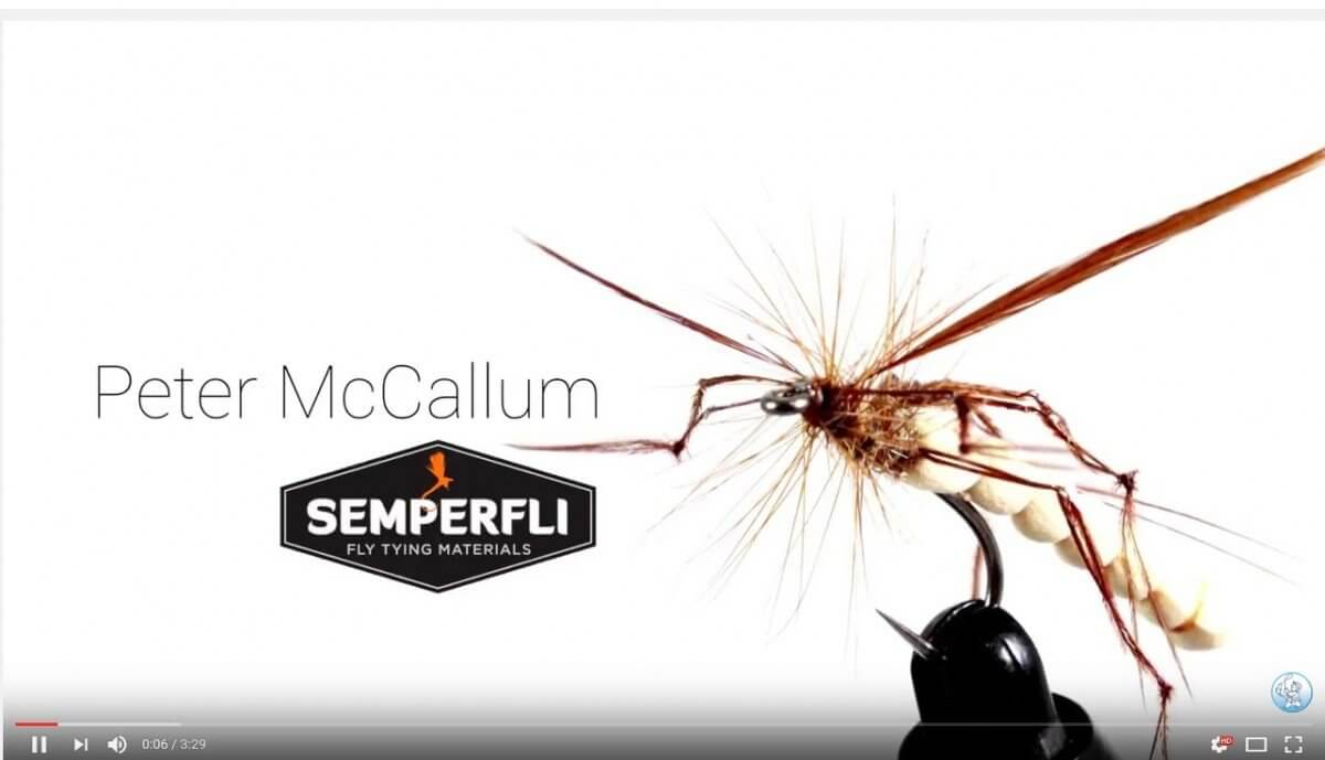 Angling Active Pro Tying Series Peter McCallum - Foam Bodied Daddy Long Leg