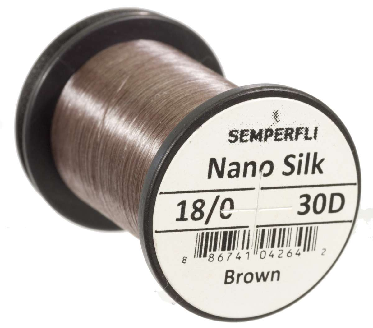 Nano Silk 30D - 18/0 Brown
