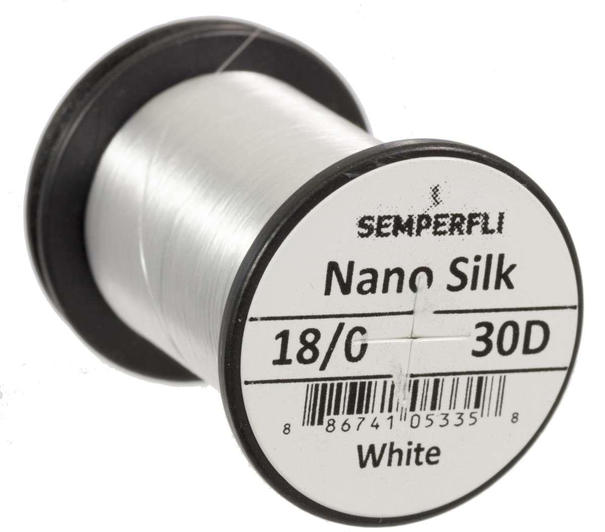 Nano Silk 30D - 18/0 White
