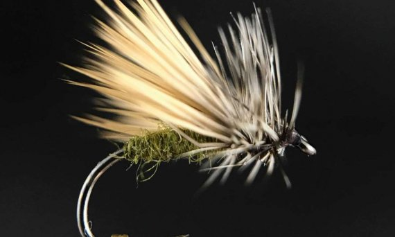 Paul Shurtleff PFC Paulies Fluttering Caddis Fly