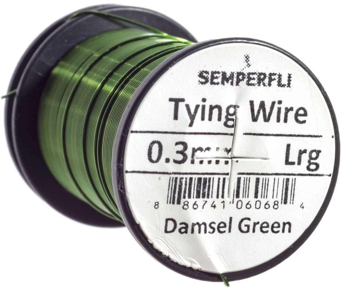 0.3mm Fly Tying Wire Damsel Green