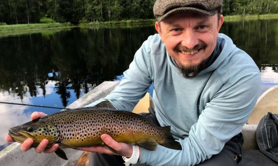 Roy Ole Læhren Jakobsen With Trout