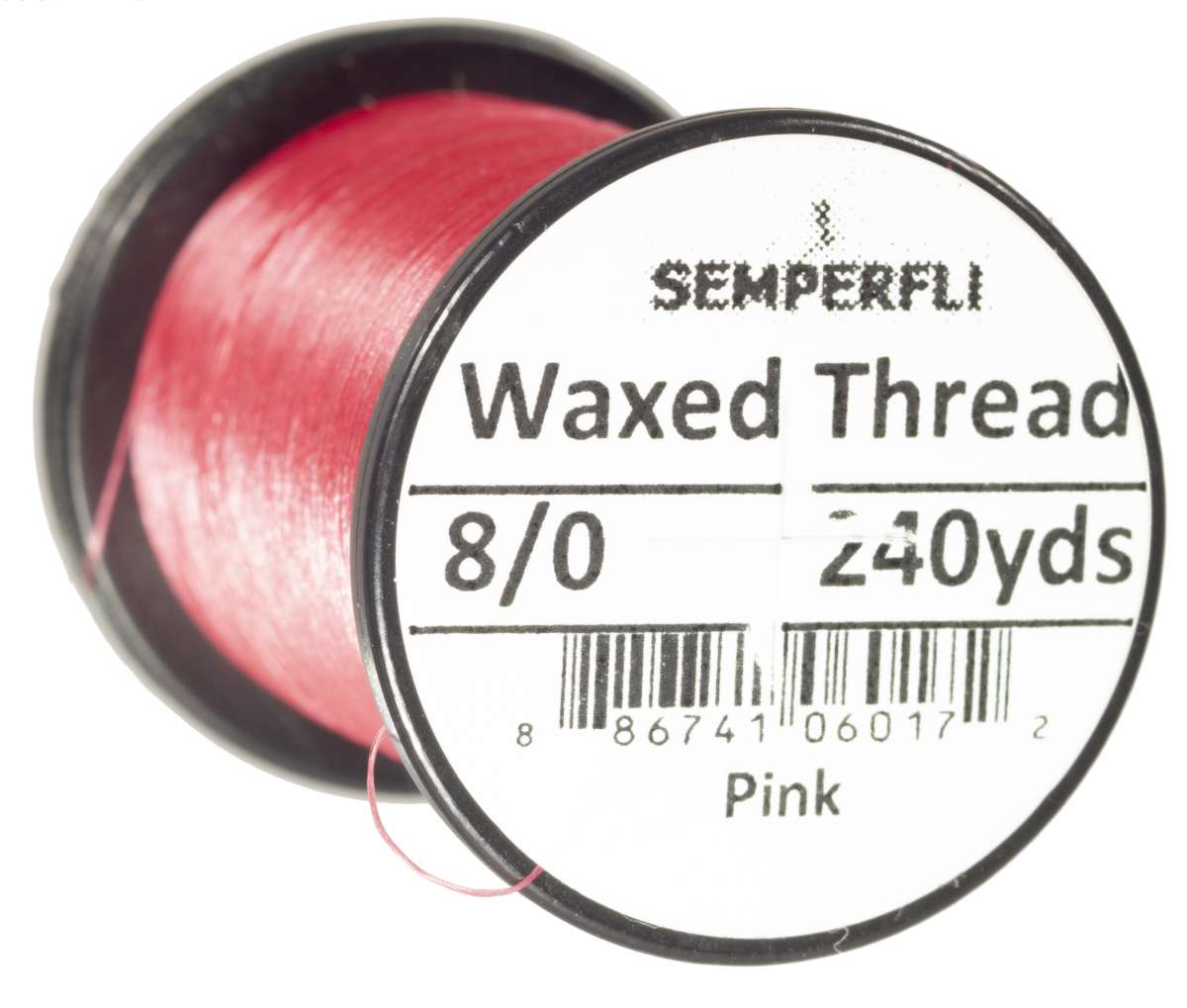 8/0 Classic Waxed Thread Pink Sem-0400-1110