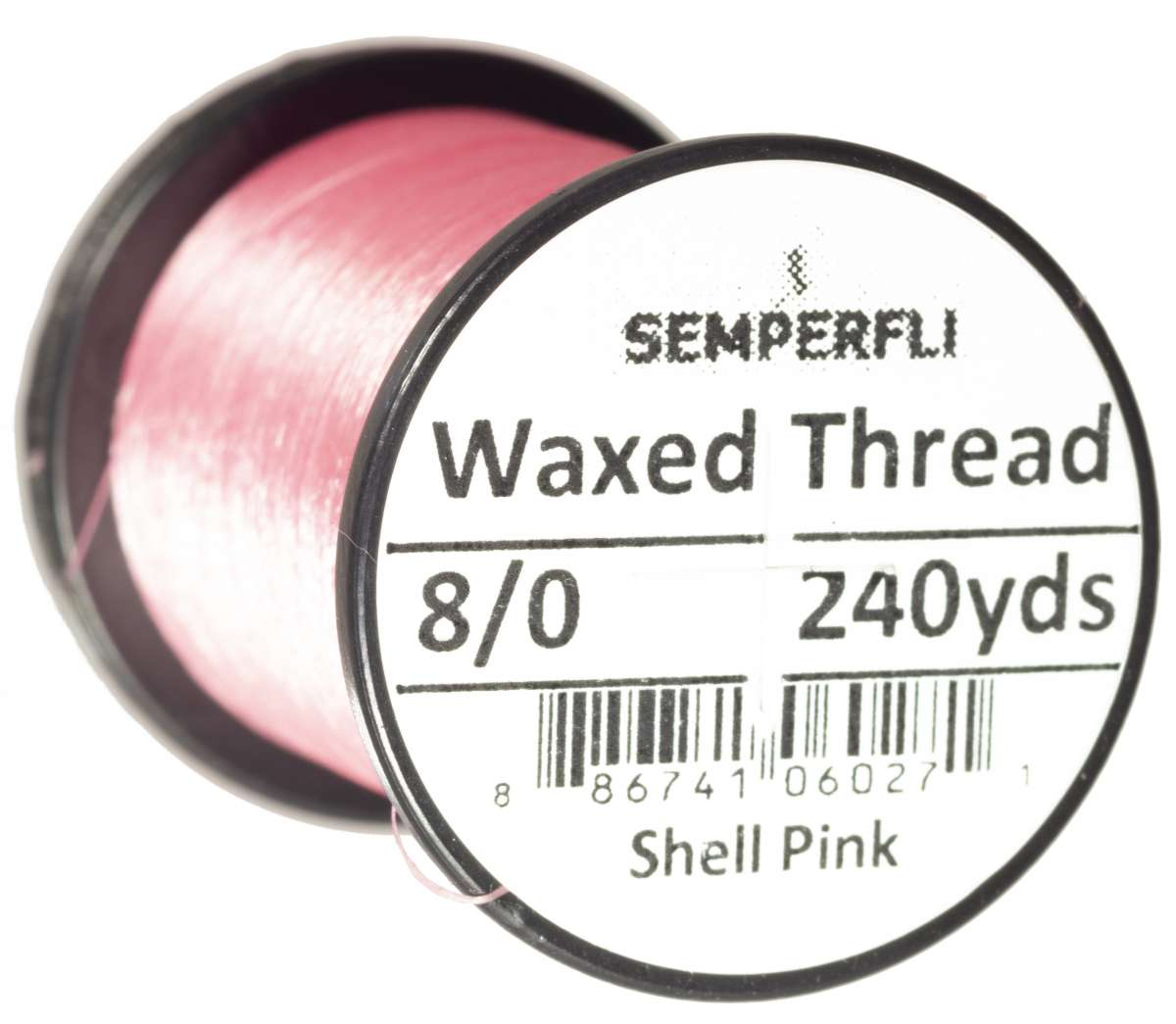 8/0 Classic Waxed Thread Shell Pink Sem-0400-1111