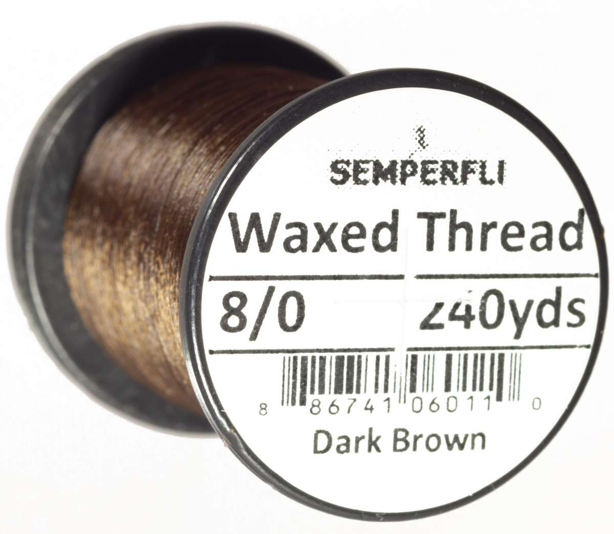 8/0 Classic Waxed Thread Dark Brown Sem-0400-1306