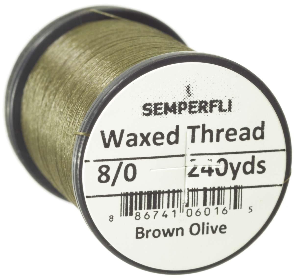 8/0 Classic Waxed Thread Brown Olive Sem-0400-1324