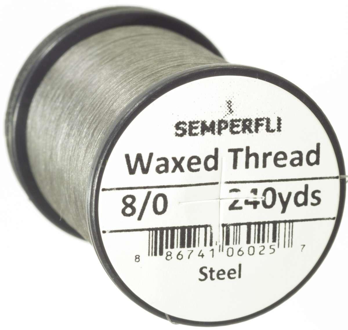 8/0 Classic Waxed Thread Steel Sem-0400-1504