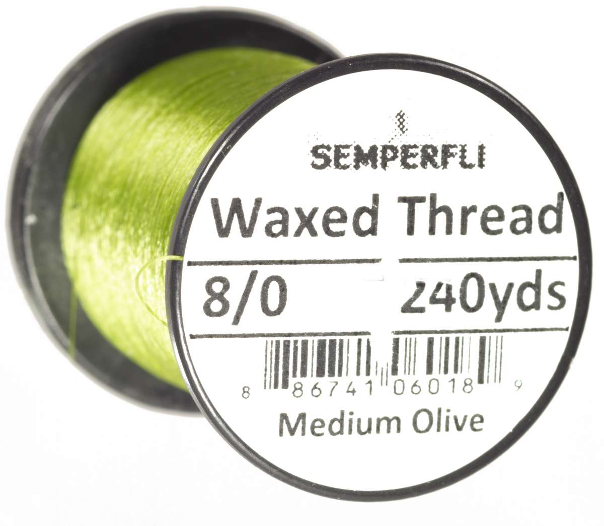 8/0 Classic Waxed Thread Medium Olive Sem-0400-1717
