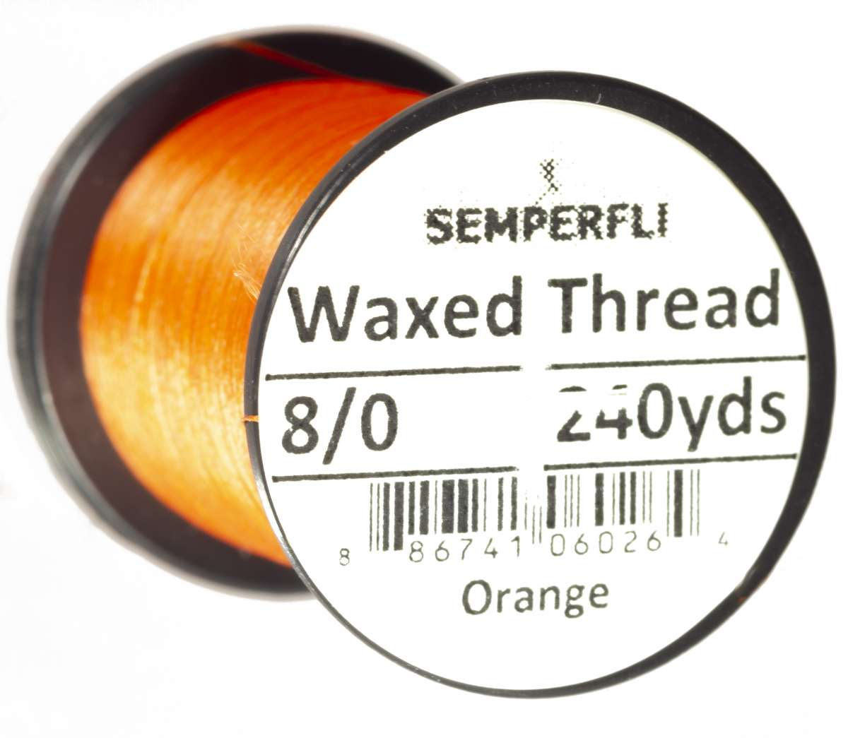 8/0 Classic Waxed Thread Orange Sem-0400-1845