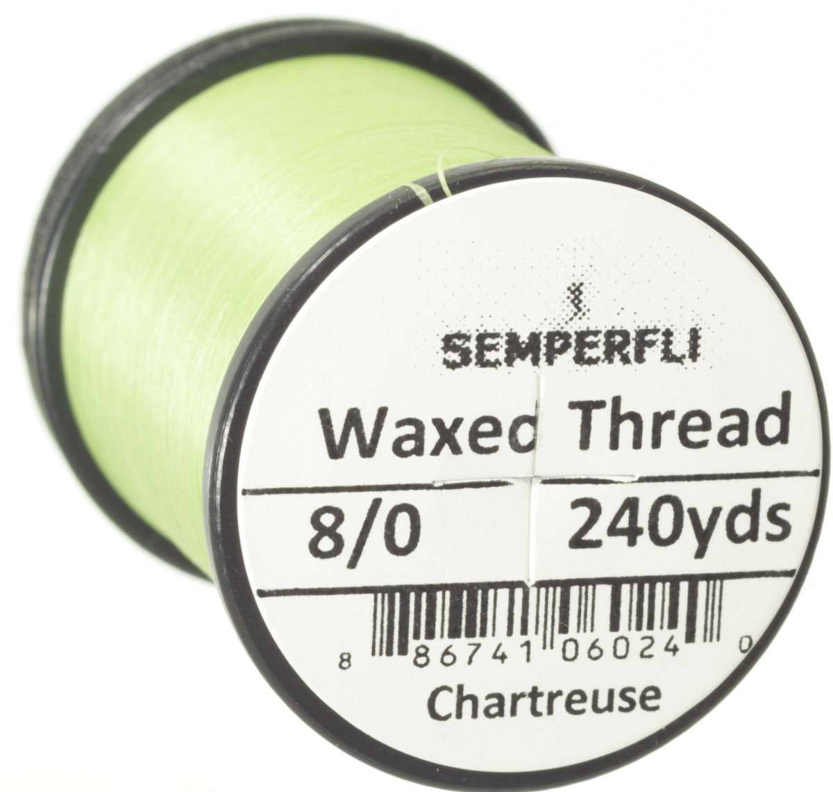 8/0 Classic Waxed Thread Chartreuse Sem-0400-1848