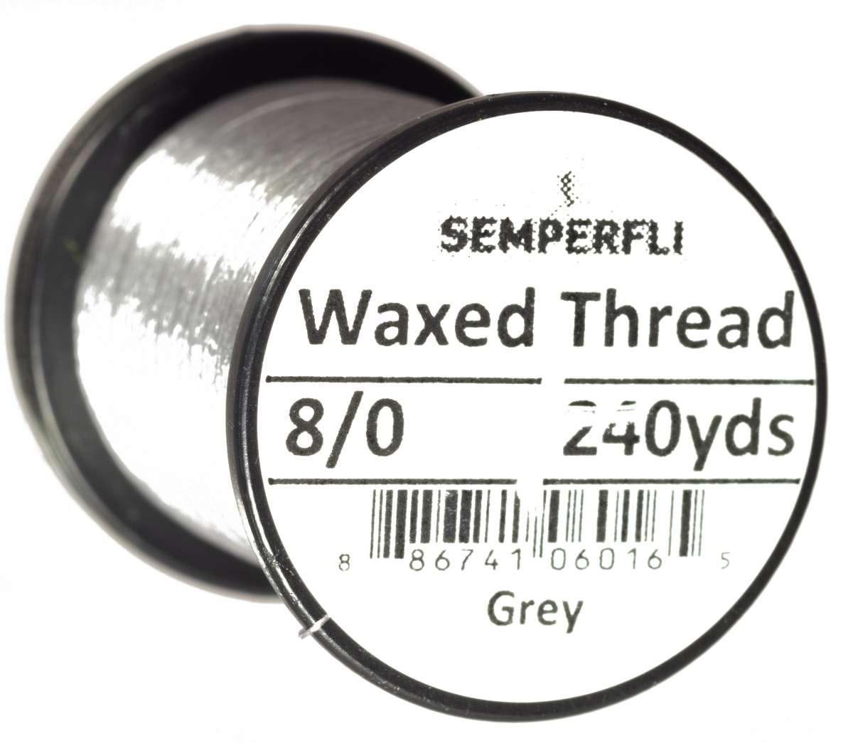 8/8 Classic Waxed Thread Grey Sem-0400-1960