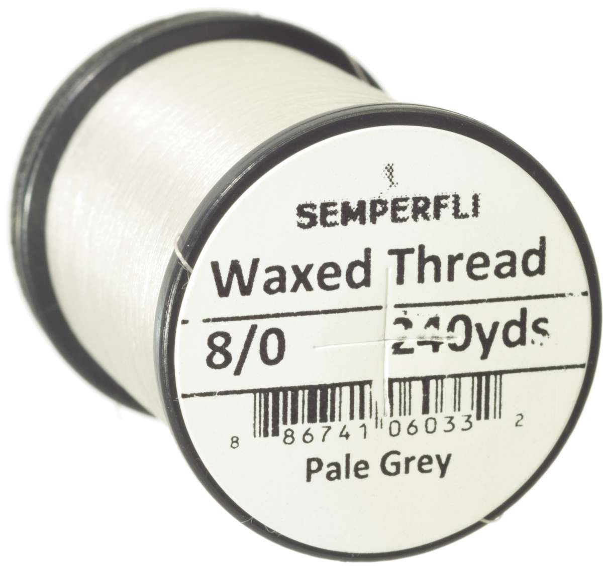 8/0 Classic Waxed Thread Pale Grey Sem-0400-1992