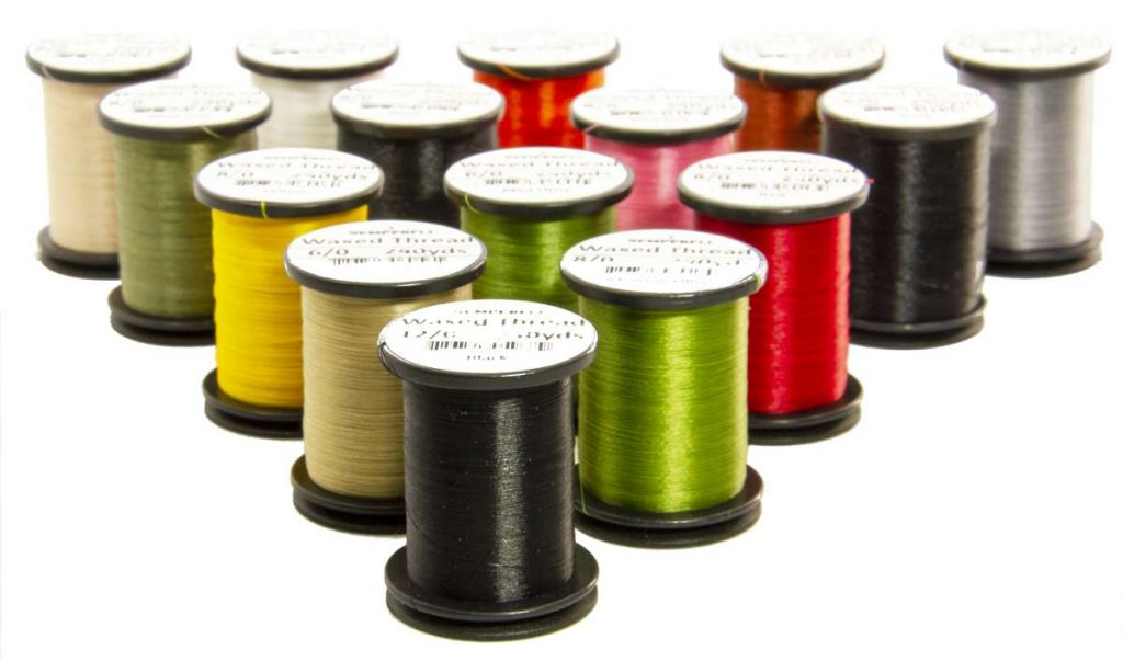 Semperfli Classic Waxed Threads in 12/0, 8/0 and 6/0