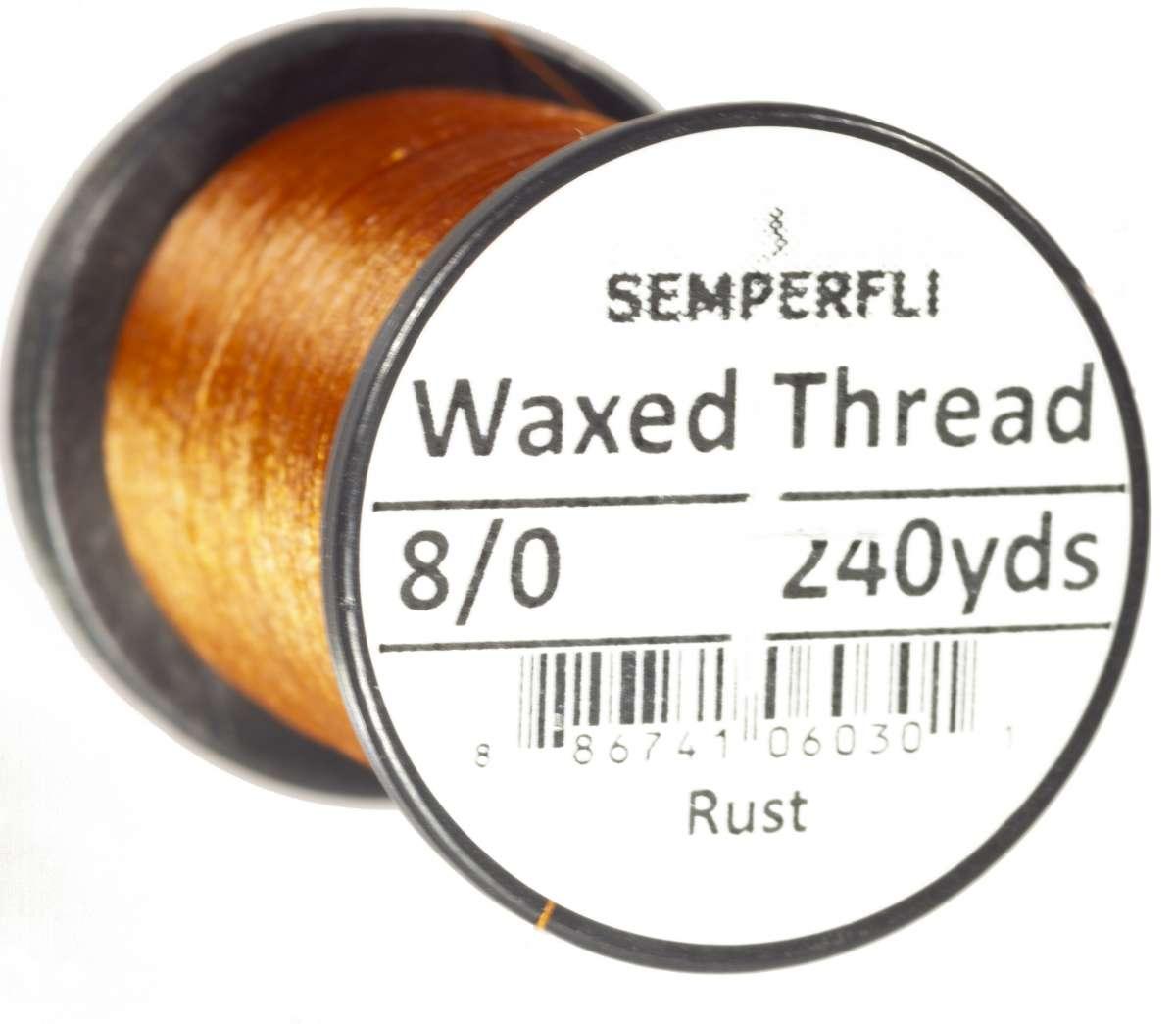 8/0 Classic Waxed Thread Rust sem-0400-1064